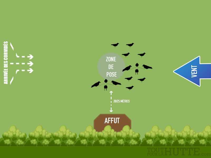 Comment installer formes corbeaux