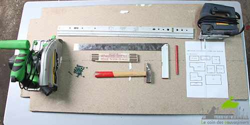 Fabriquer un nichoir à chicane pour sauvignes