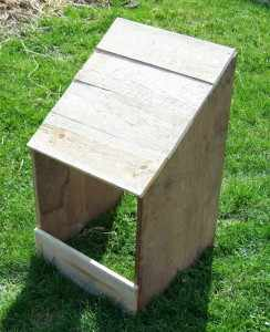 fabriquer un nichoir à oie