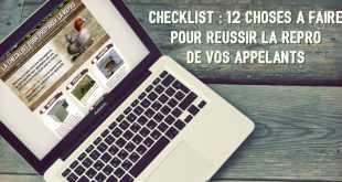 Les 12 choses à faire pour réussir la repro de vos appelants