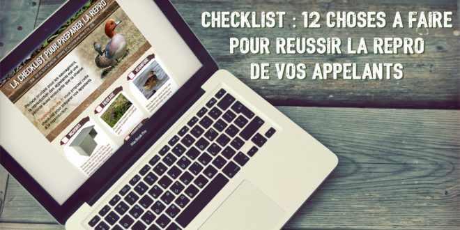 Checklist des 12 choses à faire pour réussir la repro