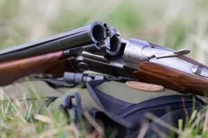 Transport du fusil de chasse