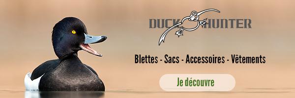 Duck Hunter, la marque des chasseurs de migrateurs