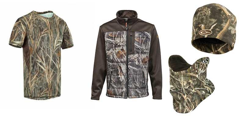 nouveaux vêtements de chasse